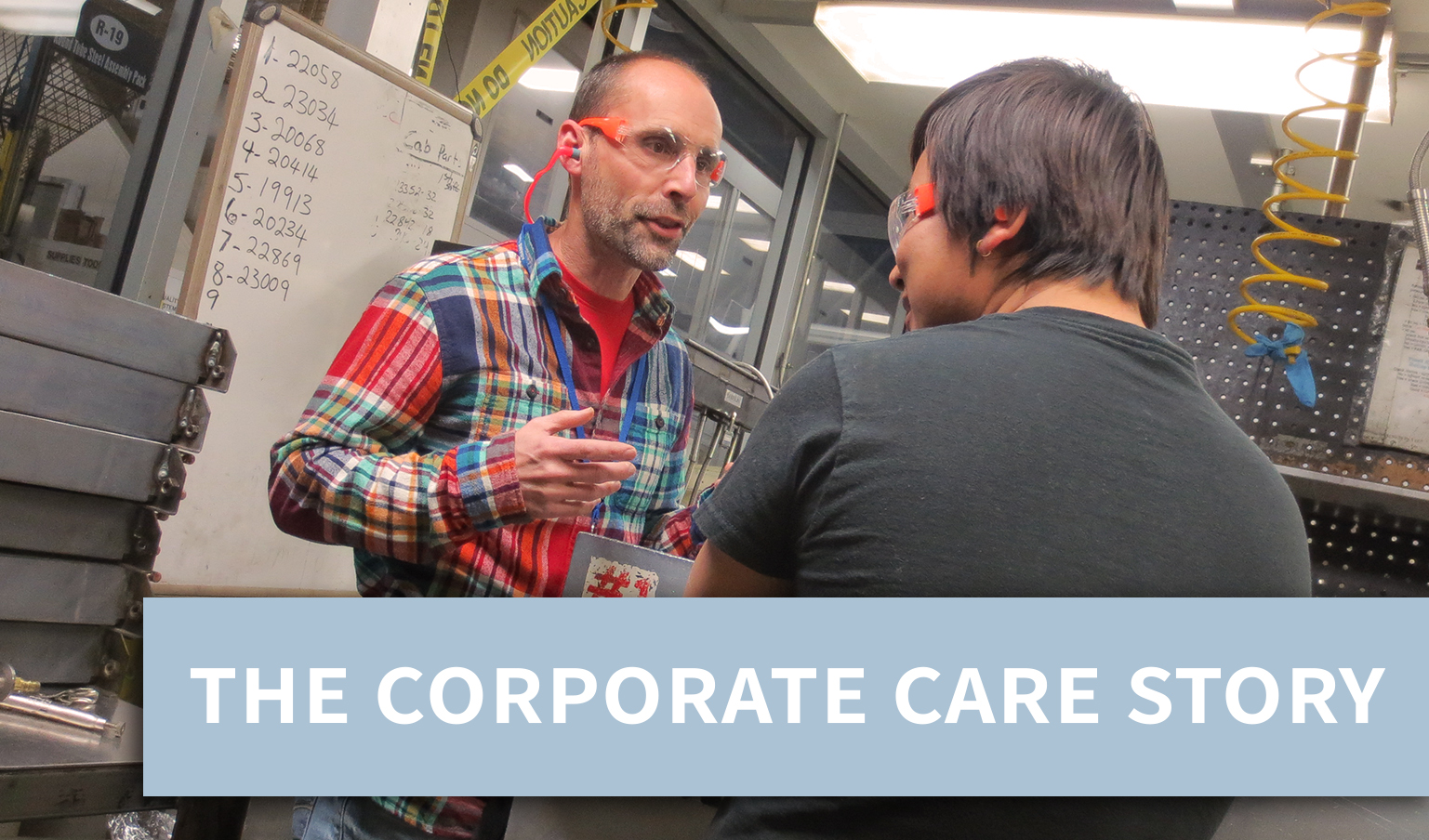 The Corporate Care Story
